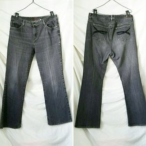 Eddie Bauer Shaped Fit Gray Jeans